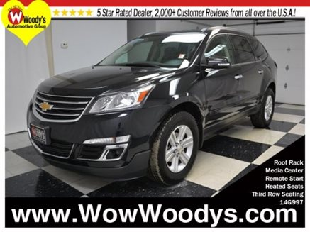 2014_Chevrolet_Traverse_LT_AWD_3.6L_V6_Heated_Seats_Media_Center_Third_Row_Seating