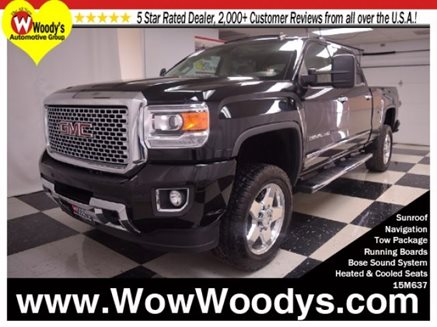 2015_GMC_Sierra_2500HD_Denali_Crew_Cab_4x4_6.6L_V8_Sunroof__Heated_and_Cooled_Leather_Seats__Touchscreen_Media_Center