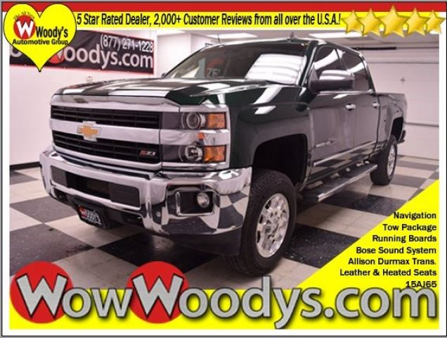 Truck Shopping? Used 2015 Chevrolet 2500HD LTZ for sale Greater Kansas City