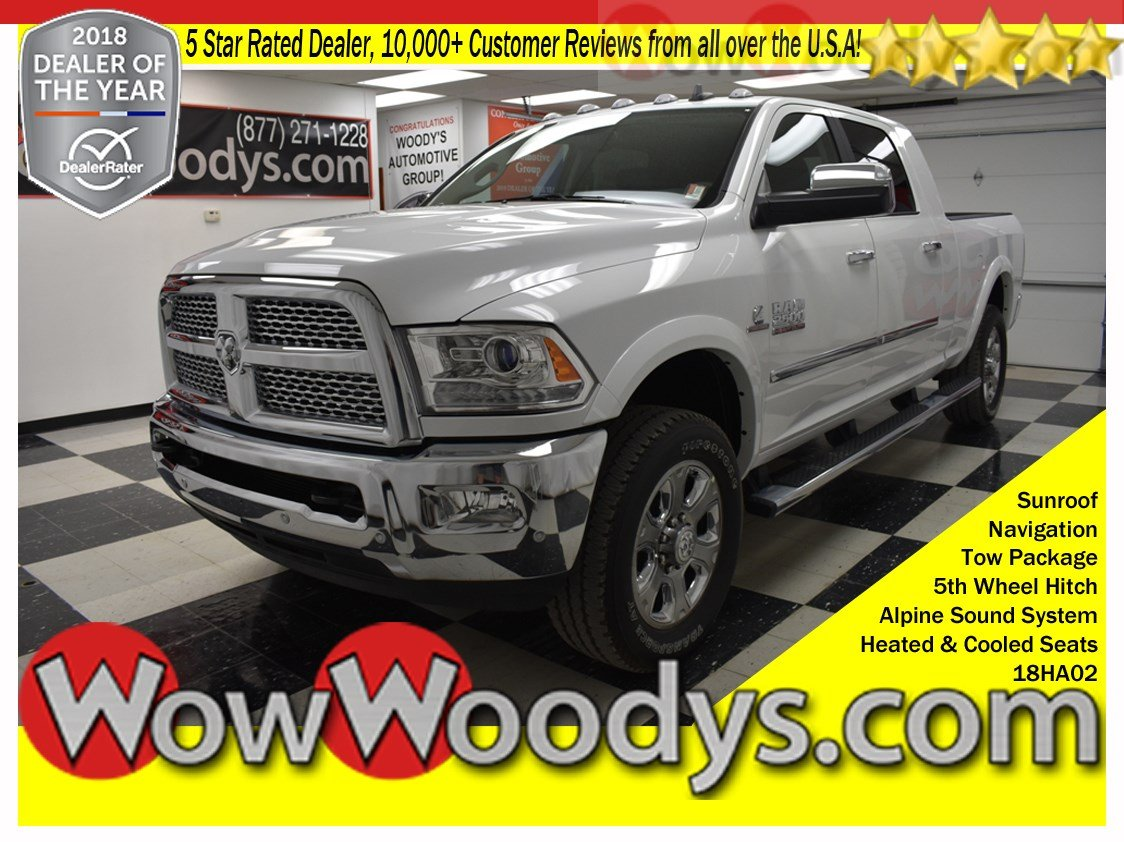 Truck Shopping? 2018 RAM 2500 Laramie 4×4 Mega Cab for Sale in Greater Kansas City